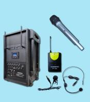 C1 Portable wireless auderpro ap1282pa-b
