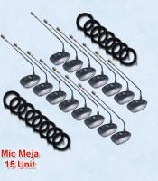 Microphone meja kabel auderpro ap-917 M9 15 mic